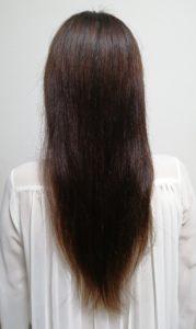 クレムドアン黒髪シャンプー 使用後